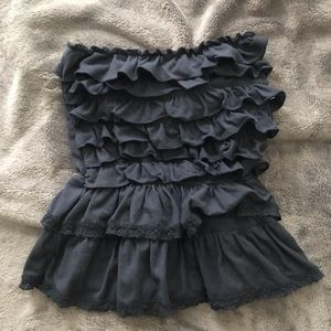 2FOR$30 A&F STRAPLESS TOP